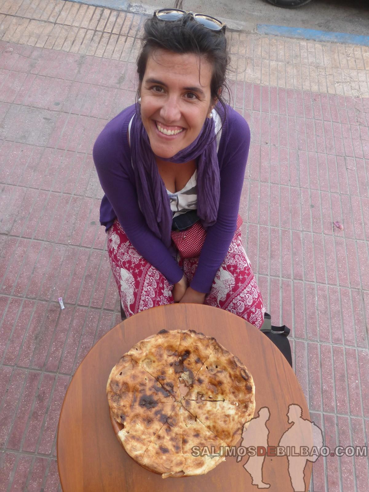 184. Saioa, Torta de pan al horno de piedras, Dakhla