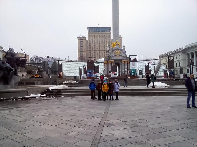 Екскурсія у місто Київ 12.17