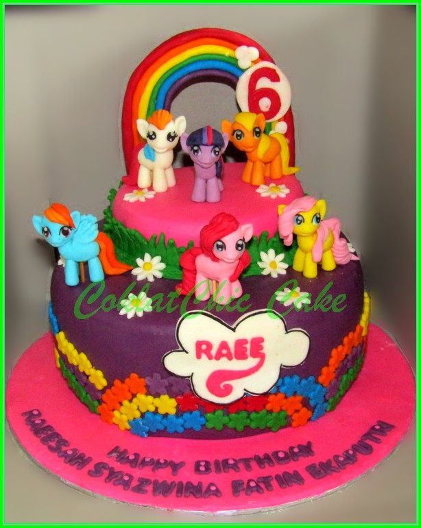 Cake My Little Pony RAEE 18cm