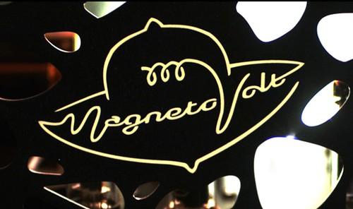 This Magnetovolt (a guitar amp company) logo