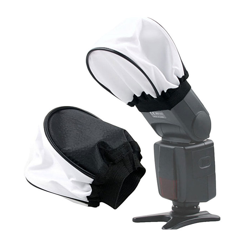 Tản sáng trắng Flash bounce softbox diffuser _free size