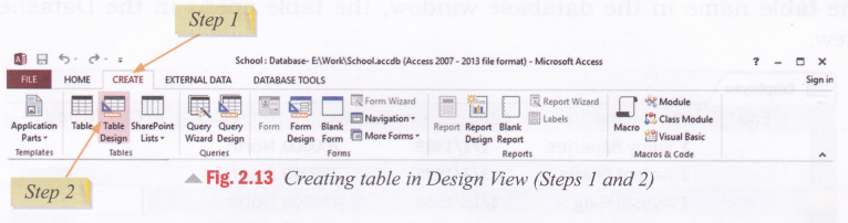 cbse-notes-for-class-8-computer-in-action-introduction-to-microsoft-access-2013-19