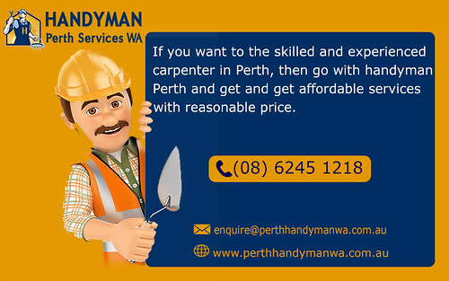 Affordable Carpentry Services - Handyman Perth