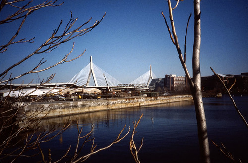 Zakim Bridge, Boston - Kodachrome