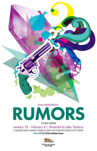"Neil Simon's ""Rumors"" presented by CFCArts Theatre"