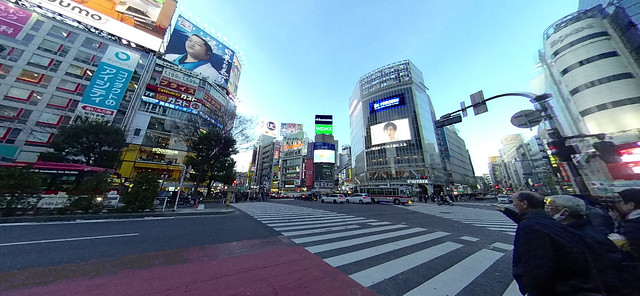 Insta360 Nano S:渋谷(昼)