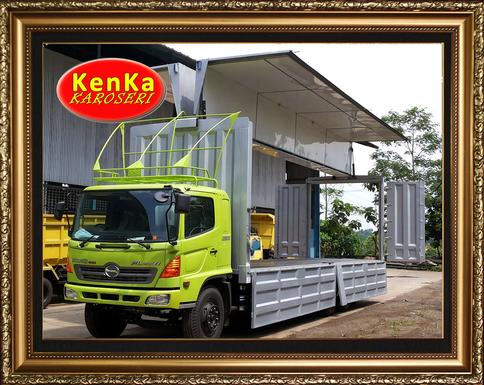 Karoseri  Truck Wingbox - 10