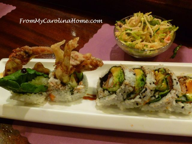 Japanese Food inspiration at From My Carolina Home
