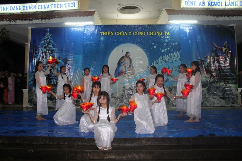 Diễn nguyện Mừng Chúa Giáng Sinh tại Giáo xứ Đa Lộc