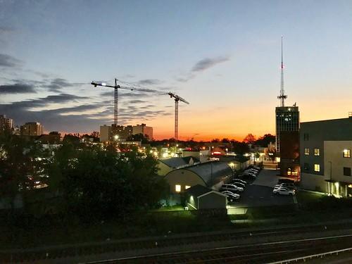 Silver Spring Cranes October 2017