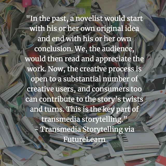 Transmedia Writer Reader