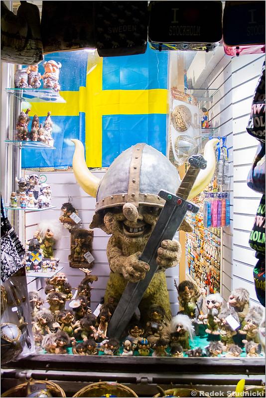 Troll szwedzki w Sztokholmie
