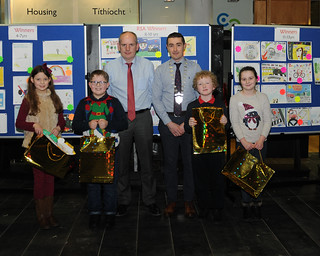 Road Safety Poster winners 8-10 year olds