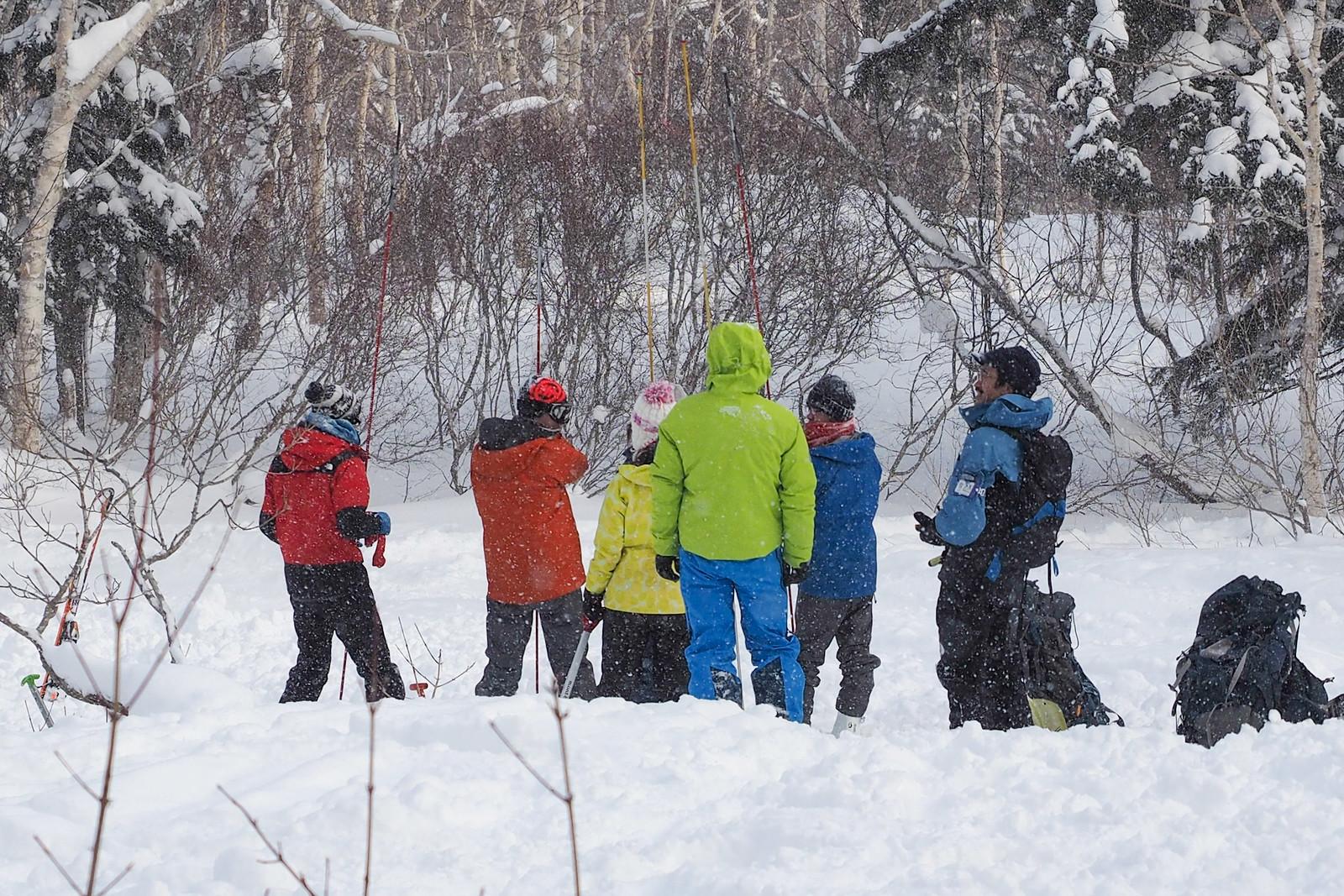 Paddle Club Sapporo Avalanche Course (Teine Ski Area, Sapporo, Japan)