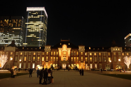 Tokyo Station square 02