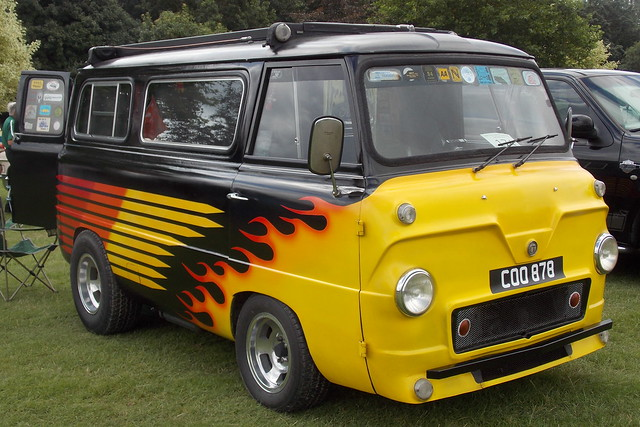 1962 Ford Thames 400E custom van