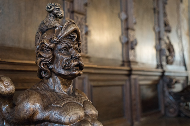 The Faces of Bremen City Hall