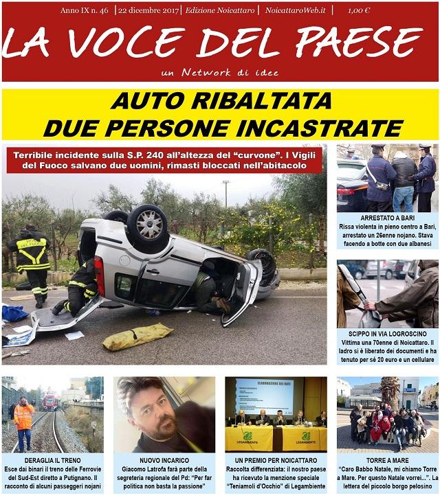 Noicattaro. Prima pagina n.46-2017 intero