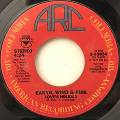 EARTH, WIND & FIRE:SEPTEMBER(LABEL SIDE-B)