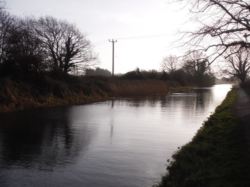 Chichester Ship Canal in winter
