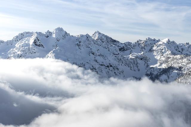Cloudy basin