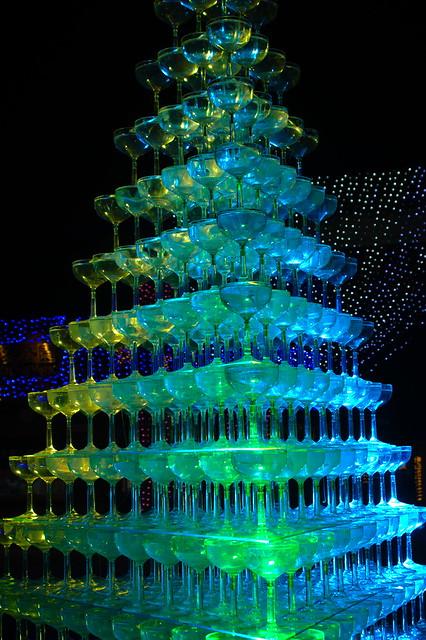 シャンパングラスツリー #1_201712_NO2