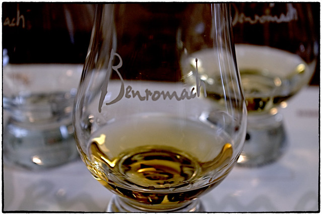 Whisky tasting at Benromach distillery, Scotland