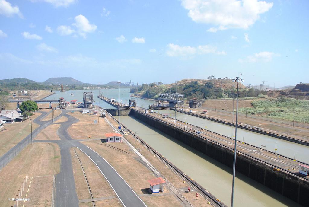 Panaman kanavalla