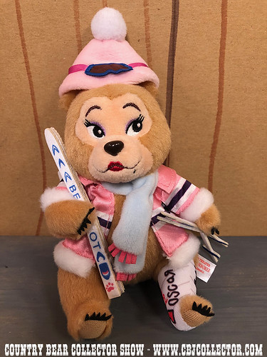 2017 Tokyo Disneyland Jingle Bell Jamboree Teddi Barra - Country Bear Collector Show #129