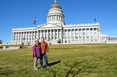 The Two Of Us At The Utah State Capitol
