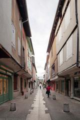 FR10 9176 Rue Monseigneur de Cambon. Porte d'Aval. Mirepoix, Ariège