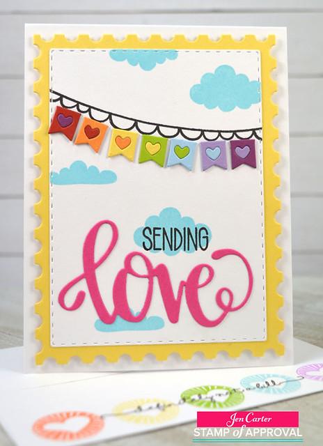 Jen Carter CP Sending Love Banner 2wm