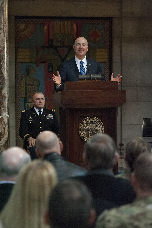 Gov. Ricketts, Nebraska National Guard Marks National Guard's 381st Birthday
