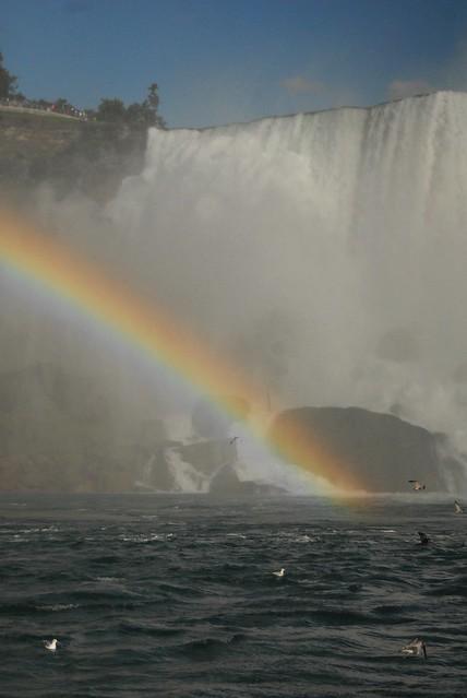 Rainbow at niagara falls, Nikon D200, AF Zoom-Nikkor 28-80mm f/3.5-5.6D