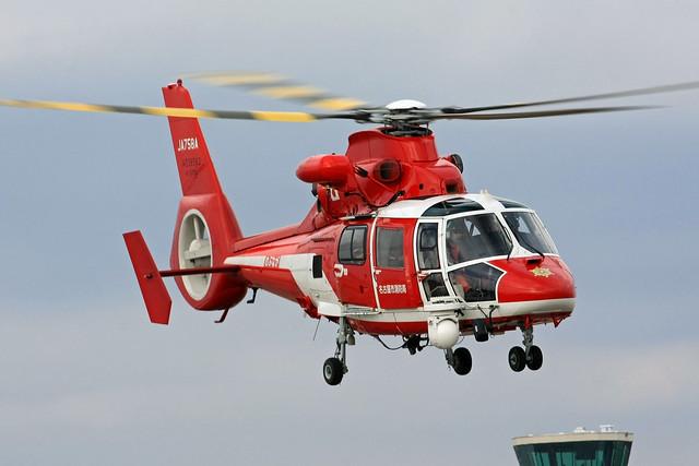 名古屋市消防航空隊 ユーロコプターA365N3 JA758A IMG_0956_2