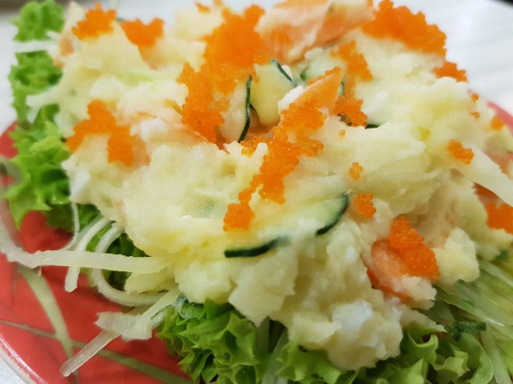 日式薯仔沙律 Mashed Patato Salad $4.80 @ Sushi Mentai USJ9