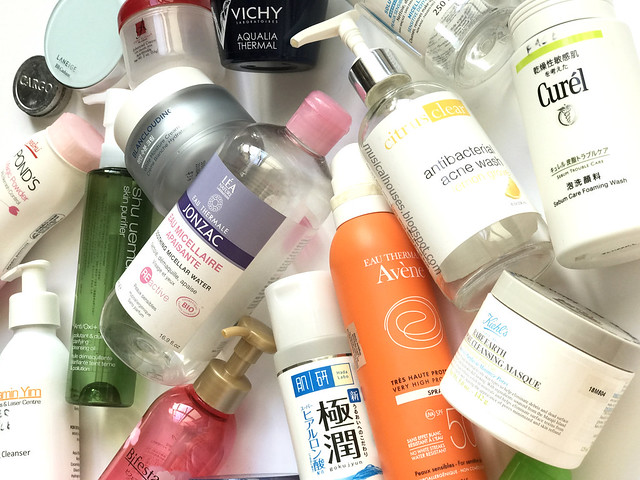 Empties Skincare Makeup 2017