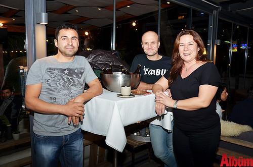 Ömer Sarız, Hasan Tezcan, Gülçin Kılınç