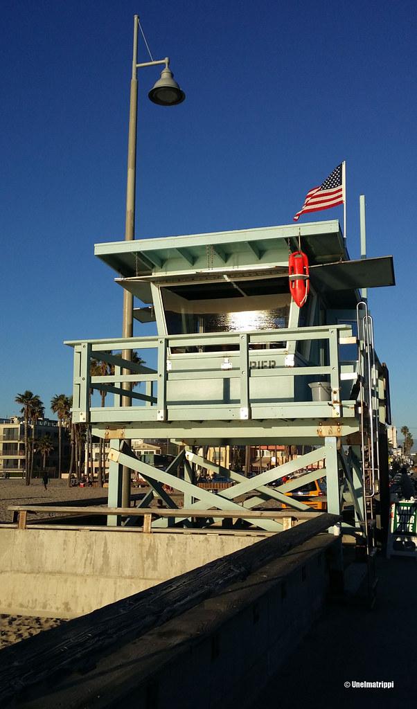 Uimavalvojan koppi, Venice Beach, Los Angeles, Kalifornia, USA