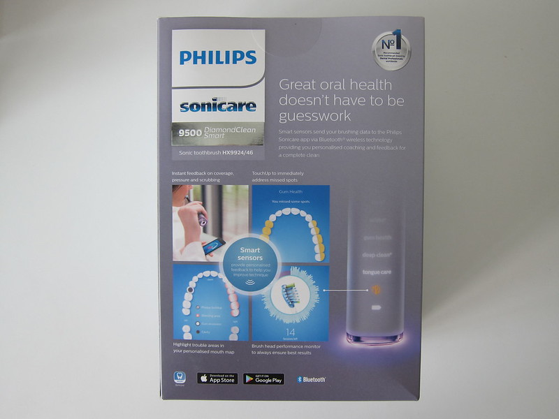 Philips Sonicare DiamondClean Smart - Box Back