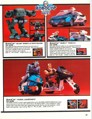 Robocop and the Ultra Police (Kenner) 1988-90 39330777521_8c5cc48f41