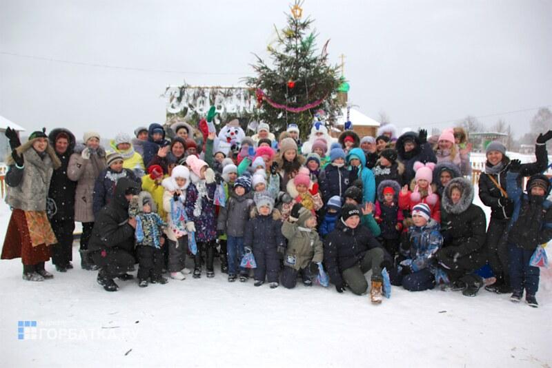 Ёлка в Кочергино