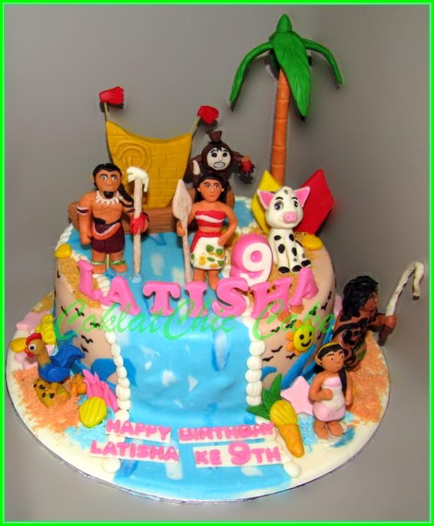 Cake Moana LATISHA 15cm