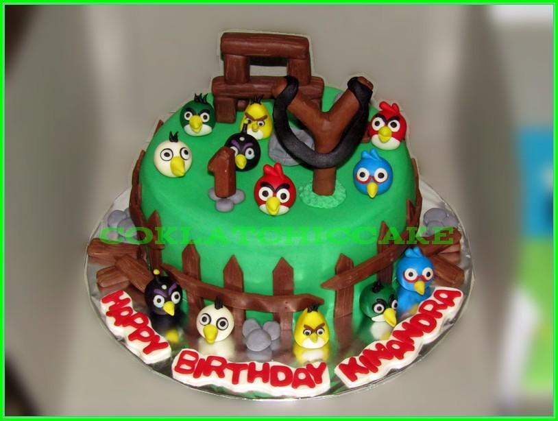 Cake Angry Birds Kinandra 20cm