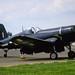 Vought F4U-4B Corsair N240CA (NZ5628) North Weald 13-5-89