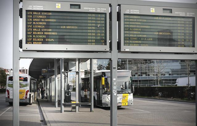 Brussels Zuid Bus Teminal