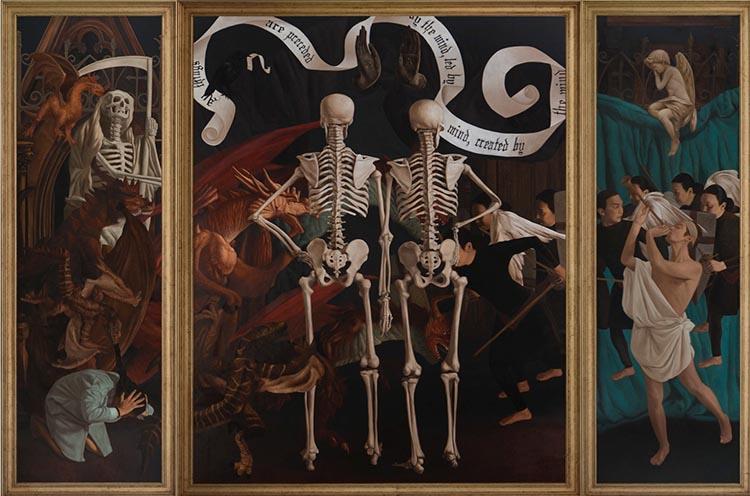 Altarpieces Art Exhibition in Singapore