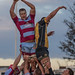 Rotherham's Rob Louw wins the lineout-3656