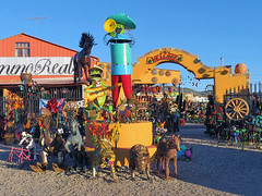 SANTA FE, USA (NM) - Camino Real souvenir store/ САНТА-ФЕ, США (шт. Нью-Мексико) - сувенирный магазин Камино-Реаль