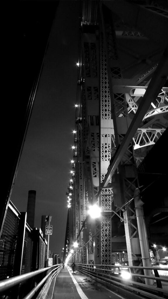 Queensboro Bridge B&W 6